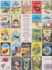 Verso de Tintin (Historique) -20C6Bis- Tintin au Tibet