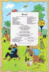 Verso de Tintin (Historique) -3B42- Tintin en Amérique