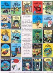 Verso de Tintin (Historique) -7C5- L'île noire