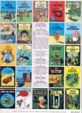 Verso de Tintin (Historique) -10C6- L'étoile mystérieuse