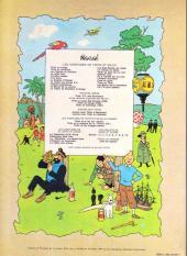 Verso de Tintin (Historique) -10B42- L'étoile mystérieuse