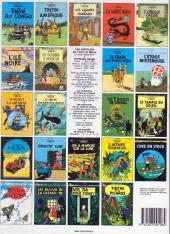 Verso de Tintin (Historique) -9C6bis- Le crabe aux pinces d'or
