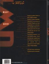 Verso de Universal War One -4a2001a- Le déluge