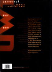 Verso de Universal War One -3a- Caïn et Abel