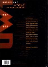 Verso de Universal War One -2a1999- Le fruit de la connaissance
