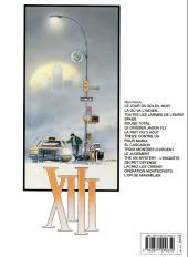 Verso de XIII -8b2007- Treize contre Un