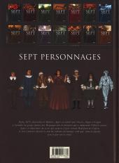 Verso de Sept -9- Sept personnages
