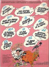 Verso de Gaston -13a1980/01- Lagaffe mérite des baffes