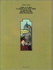 Verso de Adèle Blanc-Sec (Les Aventures Extraordinaires d') -2a82- Le démon de la tour Eiffel