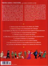 Verso de Tintin - Divers -60''- Les Personnages de Tintin dans l'Histoire