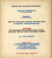 Verso de Jérôme -6- L'île verte