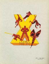 Verso de X-Men (Les étranges) -2- Conflit cosmique