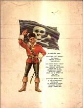 Verso de Barbe-Rouge -7'- L'île de l'homme mort