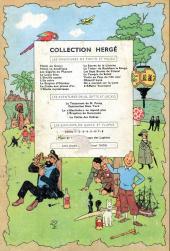 Verso de Tintin (Historique) -18B23Ter- L'affaire Tournesol