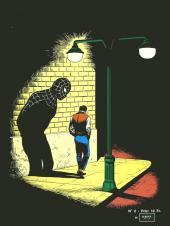 Verso de Araignée (Une aventure de l') -2- La nuit du Lézard