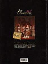 Verso de Chimère(s) 1887 -1- La perle pourpre