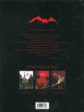 Verso de Le vampire de Benarès -2- L'Origine du Mal