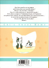 Verso de Chi - Une vie de chat (format manga) -6- Tome 6