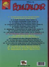 Verso de Bouldaldar et Colégram -12- Fari-Dondaine, suivi de D'Artimon (Libre Junior 12 et 13)