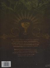 Verso de L'apogée des dragons -1- L'héritage ancestral