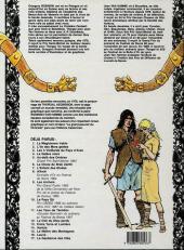 Verso de Thorgal -11a91- Les yeux de Tanatloc