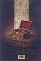 Verso de La licorne -1a- Le Dernier Temple d'Asclépios