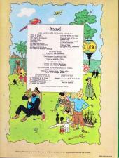 Verso de Tintin (Historique) -18B42- L'affaire Tournesol