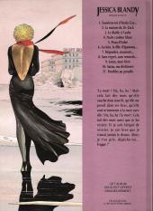 Verso de Jessica Blandy -1HC- Souviens-toi d'Enola Gay...