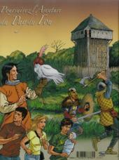 Verso de Le trésor du Puy du Fou -2- Les 3 macles d'argent