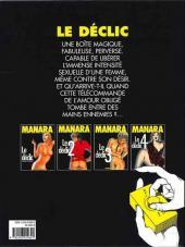 Verso de Le déclic -1c- Une femme sous influence