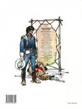 Verso de Blueberry -16a92- Le hors la loi