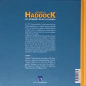 Verso de Tintin - Divers - Archibald Haddock - Les mémoires de mille sabords