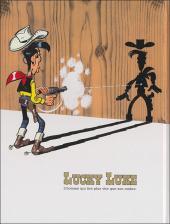Verso de Lucky Luke - La collection (Hachette 2011) -1- La mine d'or de Dick Digger