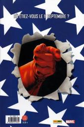 Verso de Captain America (Marvel Deluxe - 2011) -1- La sentinelle de la liberté