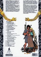 Verso de Thorgal -11b 93- Les yeux de Tanatloc