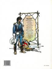 Verso de Blueberry -11d1991- La mine de l'Allemand perdu