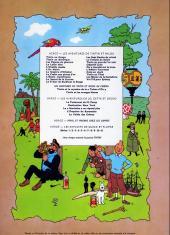 Verso de Tintin (Historique) -10B39- L'étoile mystérieuse