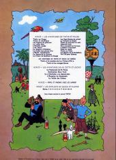 Verso de Tintin (Historique) -17B39- On a marché sur la lune