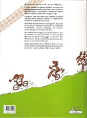 Verso de Histoires de VTT -1b- On the rock