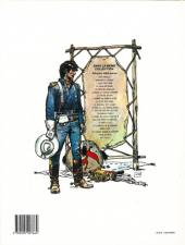 Verso de Blueberry -15b1991- Ballade pour un cercueil