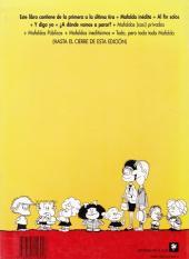 Verso de Mafalda (en espagnol) - Toda Mafalda