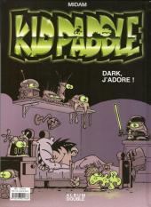 Verso de Kid Paddle -INTFL5- Boing ! Boing ! Bunk ! / Dark j'adore !