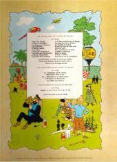 Verso de Tintin (Historique) -11B36- Le Secret de la Licorne