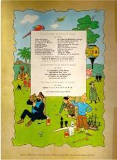 Verso de Tintin (Historique) -15B35- Tintin au pays de l'or noir