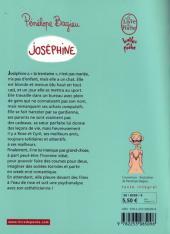 Verso de Joséphine (Bagieu) -1Poche- Joséphine