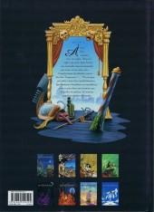 Verso de De Cape et de Crocs -1a09- Le Secret du janissaire