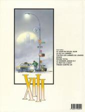 Verso de XIII -6a1991/10- Le dossier Jason Fly