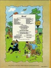 Verso de Tintin (Historique) -15B42- Tintin au pays de l'or noir