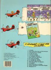 Verso de Les petits hommes -14a84- Petits hommes et des hommes-singes
