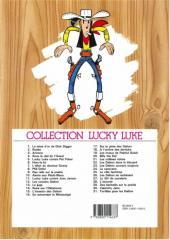 Verso de Lucky Luke -23c2003- Les Dalton courent toujours